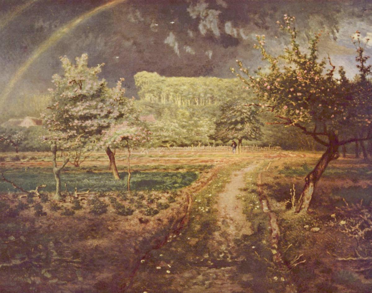 Жан-Франсуа Милле. Весна