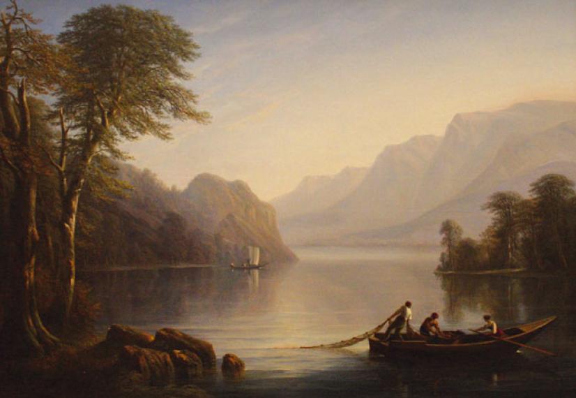 Исидор Даньян. Озеро Невшатель