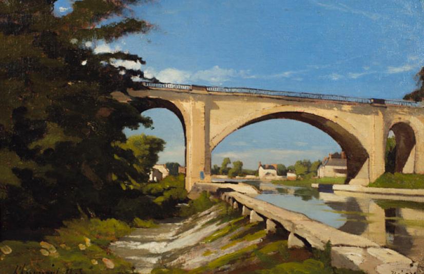 Анри Арпиньи. Бриарский железнодорожный мост