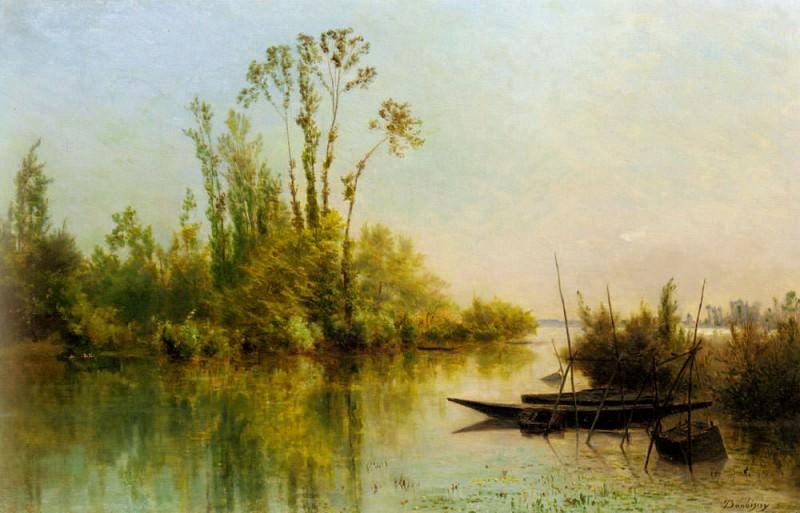 Шарль-Франсуа Добиньи. Девственные острова в Безоне. Низкий прилив в Виллервилле