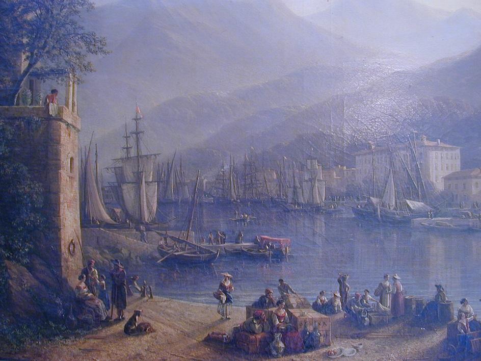 Исидор Даньян. Старый порт в Ницце