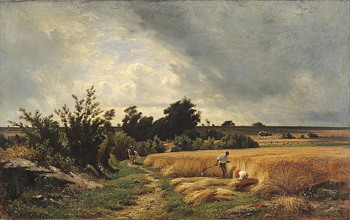 Франсуа-Луи Франсэ. Плато Ормессон. Путь через кукурузу