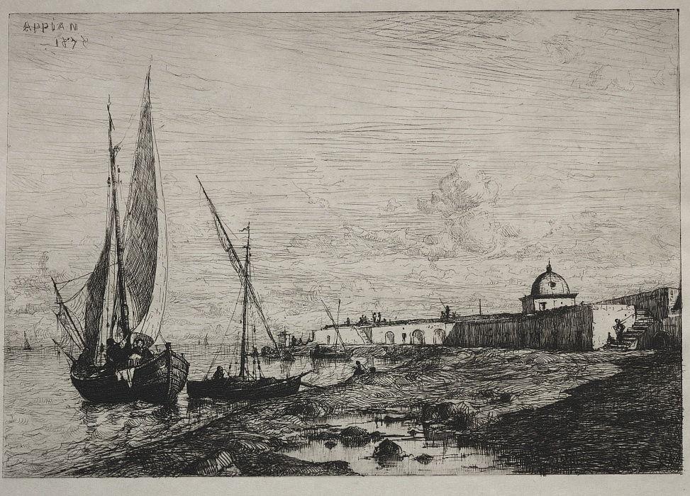 Адольф Аппиан. Порт в Сан-Ремо