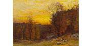 Джон Эннекинг: картины художника с фото и описаниями