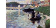 Жорж Сёра: картины художника с фото и описаниями