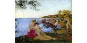 Кер-Ксавье Руссель: картины художника с названиями, описаниями и фото