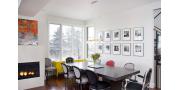 Масляная живопись в дизайне: картины на холсте в интерьере комнаты