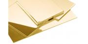 Изготовление букв, логотипов и вывесок из латуни в компании Адвертка